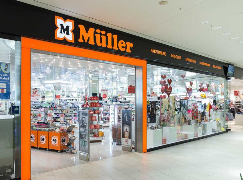 Müller Drogerie Sortiment