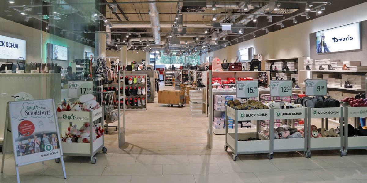 best service 81b69 0d732 Quick Schuh im neuen Design » west - Das Einkaufszentrum in ...
